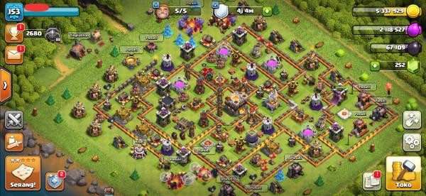 Town Hall 11, Hero GG, Base Mantap