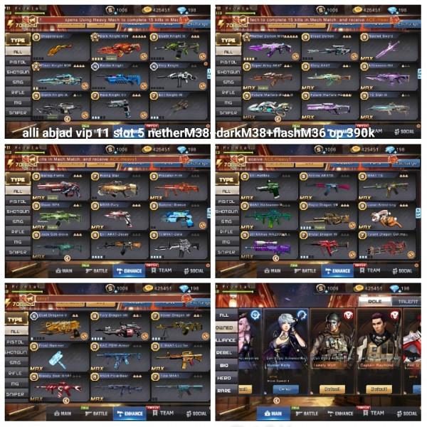 Akun game crisis action netherM38