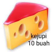 Keju sapi 10 buah