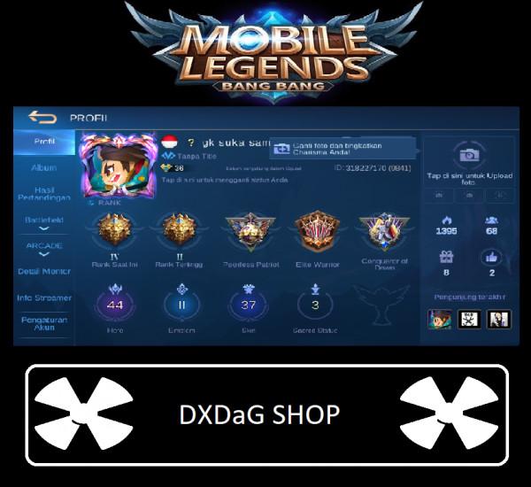 Akun Legend 6 Special #Special #Murah #Emblem GG
