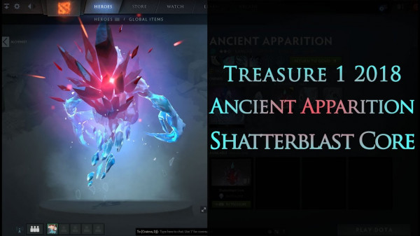 Shatterblast Core (Immortal TI8 Ancient Apparition)