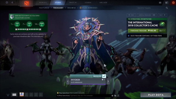 Fate Meridian (Set Collector Chace 2018 Invoker)
