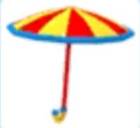 Clown Umbrella | Toys Adopt Me
