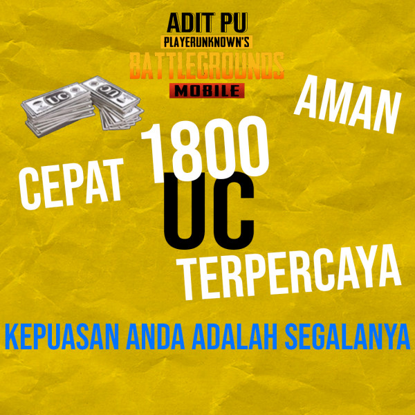 Top Up 1800 UC