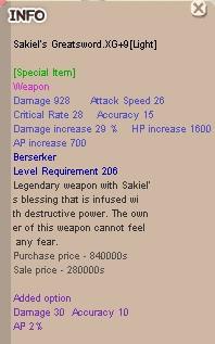 Sakiel Greatsword .XG+9