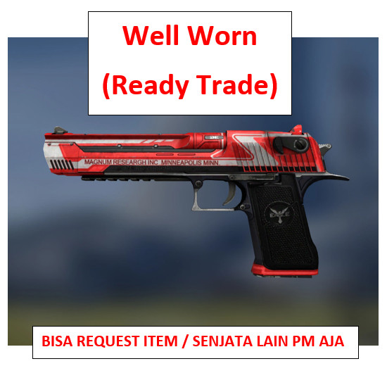 Desert Eagle | Code Red WW | Ready Trade