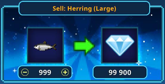 999 Herring(Large)