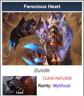 Ferocious Heart (Ursa Set)