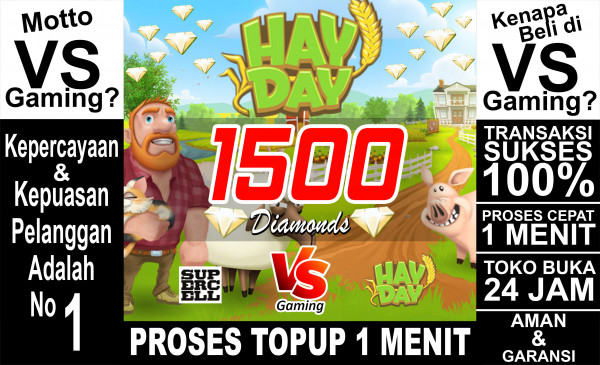 1500 Diamonds