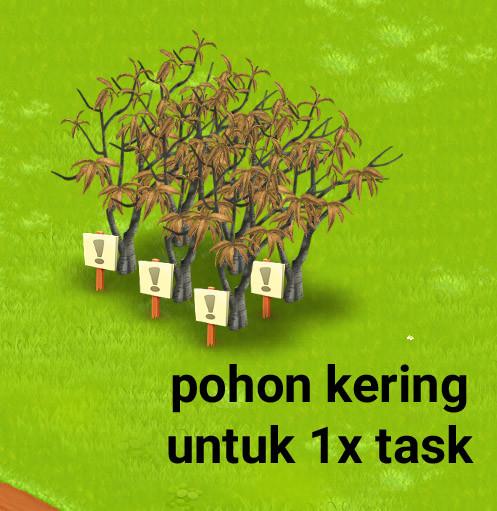 Pohon kering 30pcs