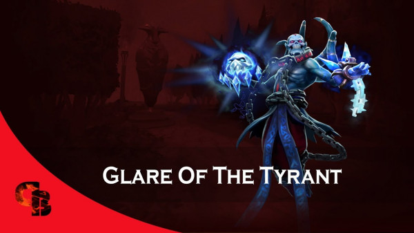 Glare of the Tyrant (Immortal TI8 Lich) + Kinetic