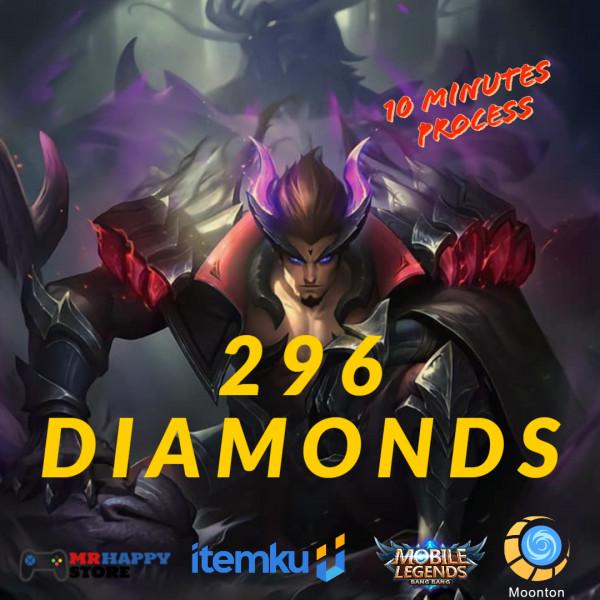 296 Diamonds