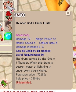 Thunder God's Drum (TGD) XG+9
