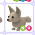 Fennec Fox NR (Neon Ride) Adopt Me