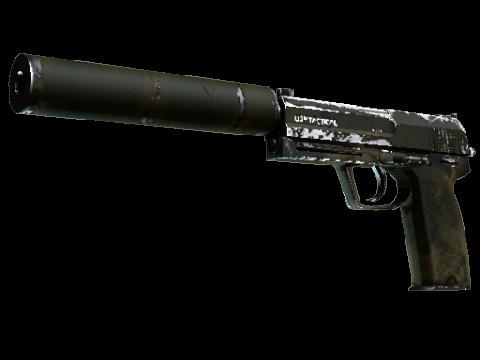 USP-S   Forest Leaves (Industrial Grade Pistol)