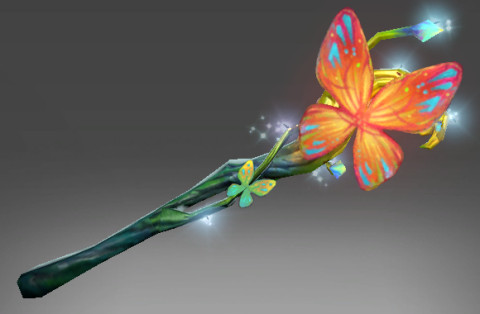 Genuine Fluttering Staff (Immortal Nature's Prophet)