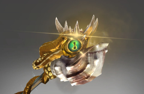 Genuine Golden Grasping Bludgeon