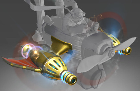 Golden Atomic Ray Thrusters (Immortal Gyrocopter)