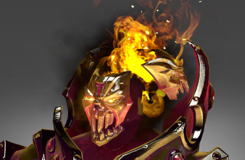 Golden Mantle of Grim Facade (Immortal TI7 Shadow Demon)