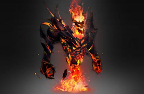 Autographed Demon Eater (Arcana Shadow Fiend)