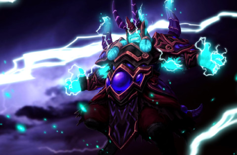 Storm Dragon Potente (Storm Spirit Set)