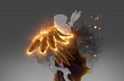 Golden Silent Wake (Immortal Drow Ranger)