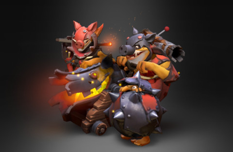 Swine of the Sunken Galley (Arcana Techies Set)
