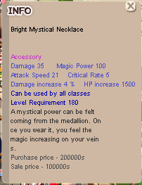 Bright Mystical Necklace