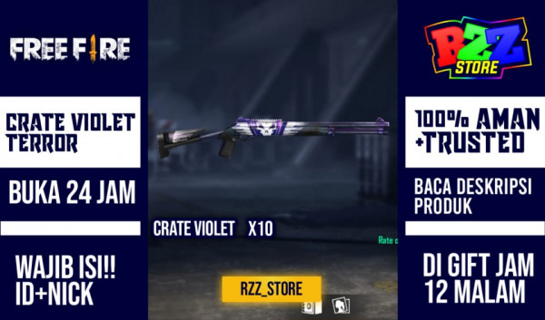 10 Box Loot Crate Violet Terror