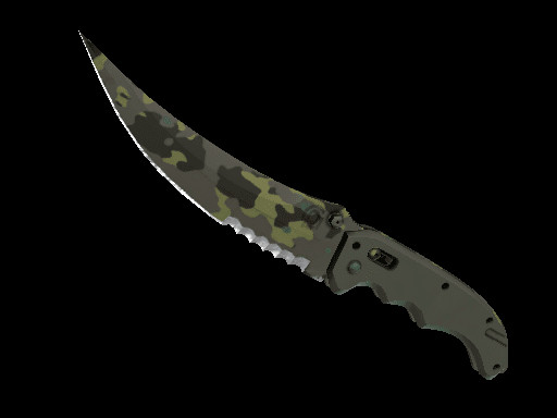 Flip Knife | Boreal Forest (Minimal Wear)