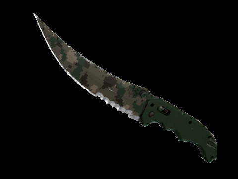 Flip Knife | Forest DDPAT (Field-Tested)
