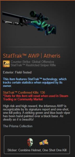 StatTrak™ AWP | Atheris