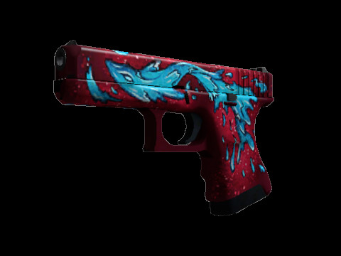 Glock-18 | Water Elemental (Minimal Wear)