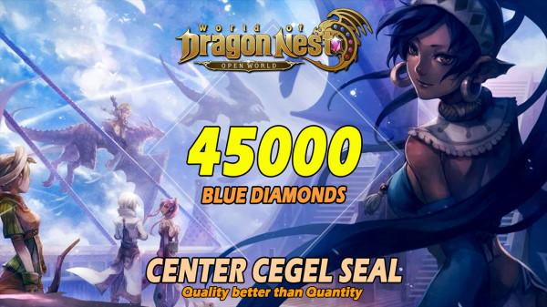 45000 Blue Diamonds