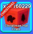 10pcs Xmas Hat Crate - Mining Simulator (BONUS)