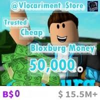 Bloxburg 50.000 Money via Donation