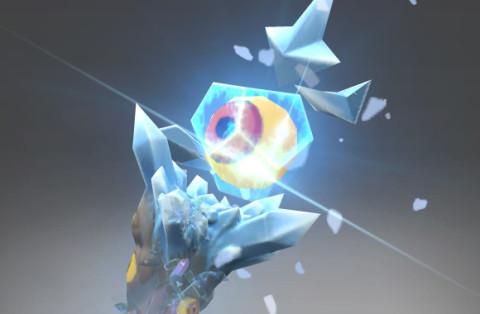 Inscribed White Sentry (Immortal Crystal Maiden)