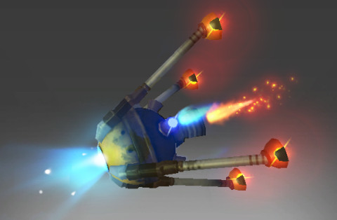 Inscribed Paraflare Cannon (Immortal Clockwerk)