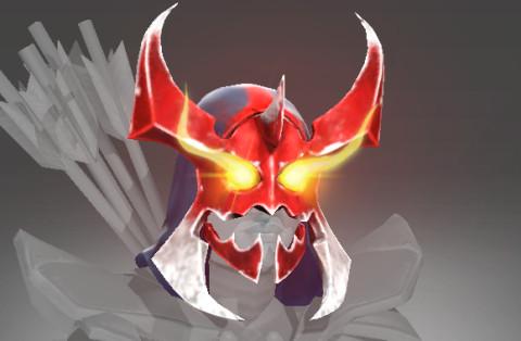 Inscribed Mania's Mask (Immortal Drow Ranger)