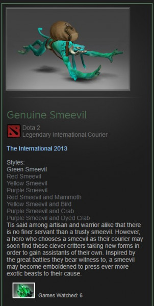 Genuine Smeevil (Courier) Full unlock