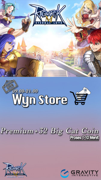 Premium + 32 Big Cat Coin