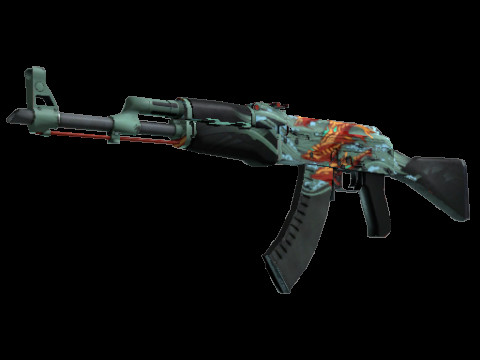 AK-47   Aquamarine Revenge (Covert Rifle)