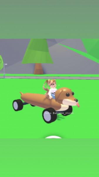Dog Mobile  - Adopt Me Vehicle