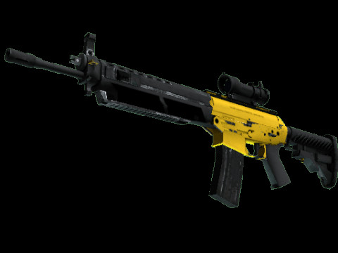SG 553 | Bulldozer (Restricted Rifle)