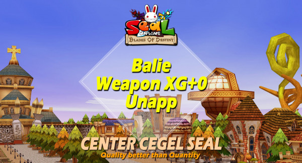 Balie Weapon All Job.XG+0 Unapp