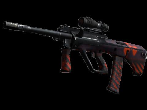 AUG | Radiation Hazard (Industrial Grade Rifle)
