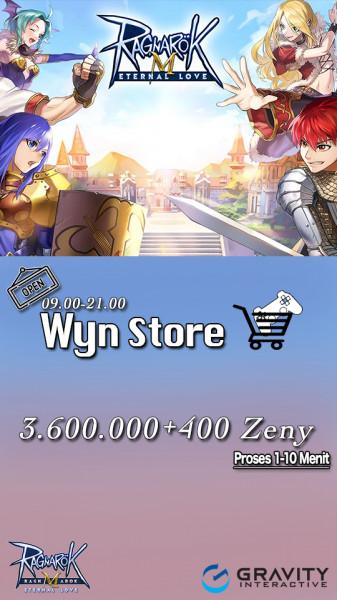 3.600.000 Zeny