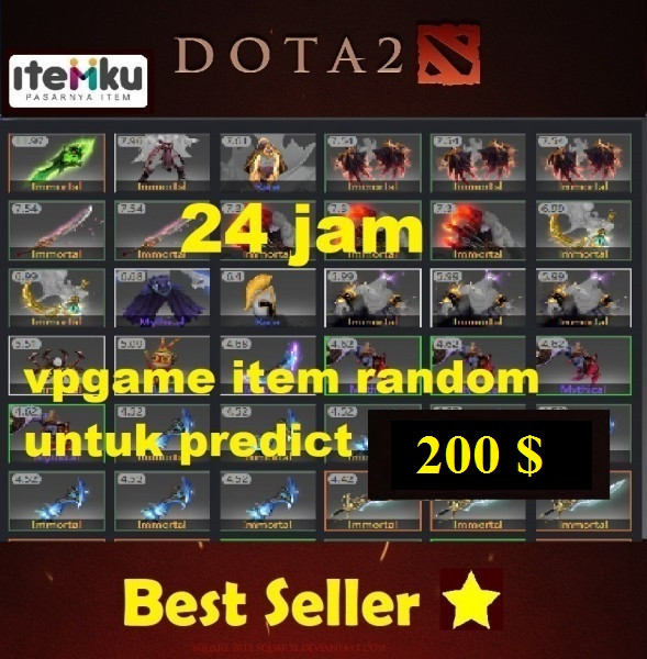 Item VPGAME Random ( 200 $ )
