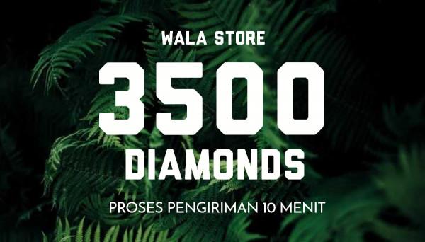 3500 Diamonds