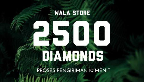2500 Diamonds